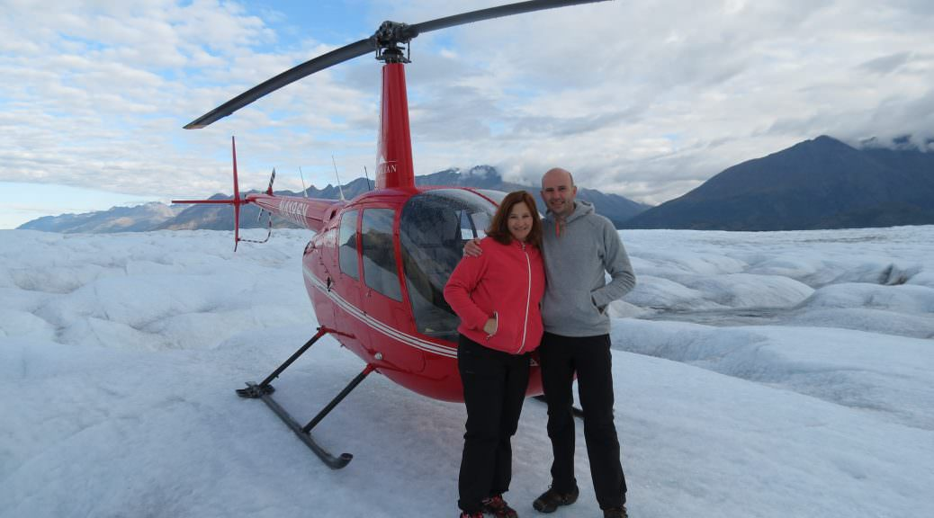 Helicopter tour vanuit Knik River Lodge