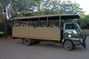 Kruger Safari voertuig voor 20 personen