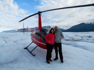 Helicopter Glacier Alaska