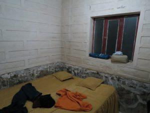 Ons bed voor de 2de nacht