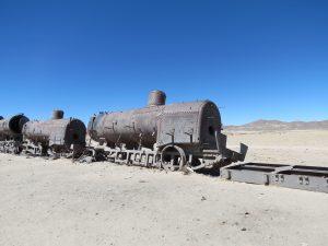 Trein kerkhof Uyuni