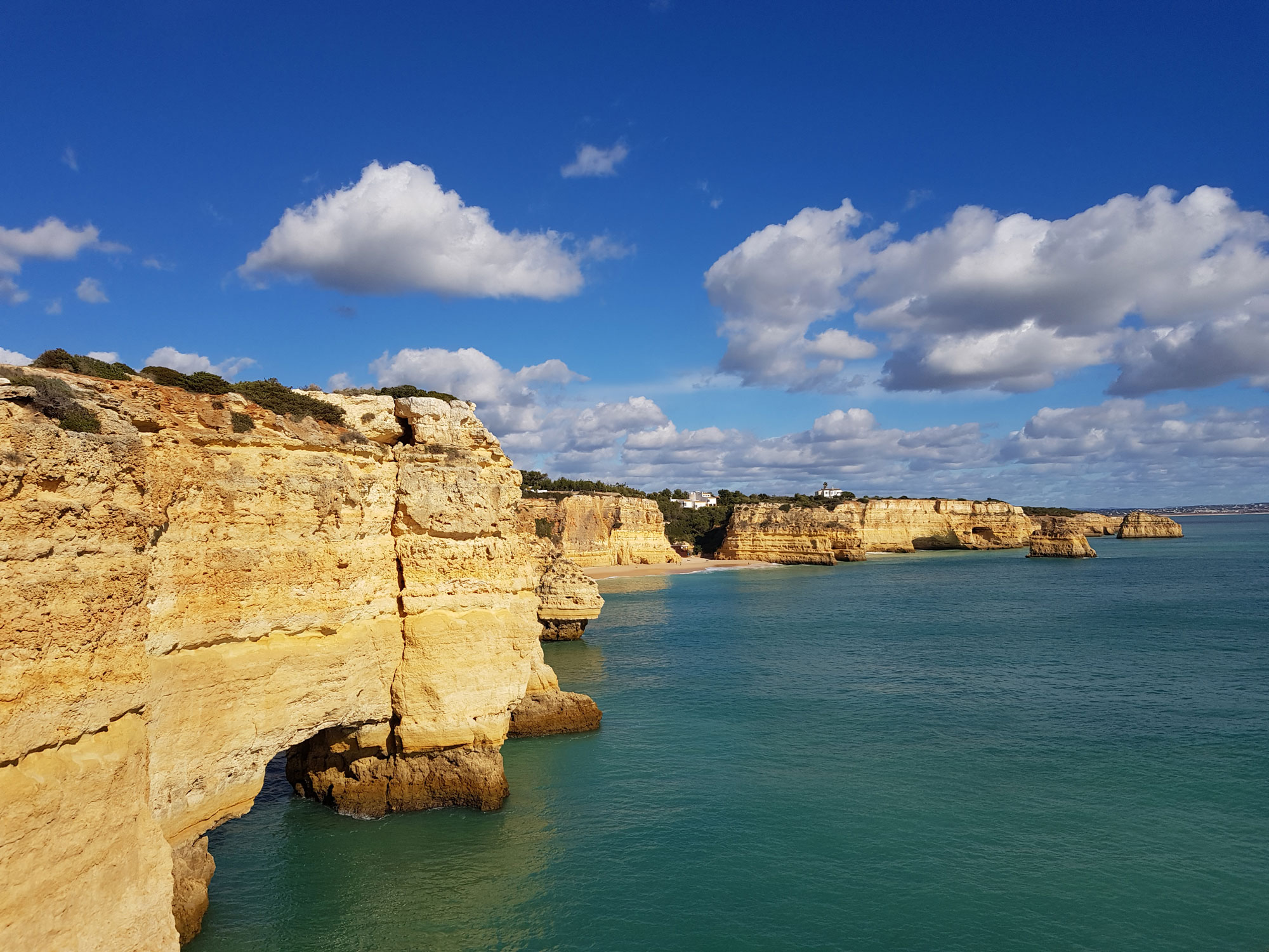 Algarve coastline - Praia Da Marinha