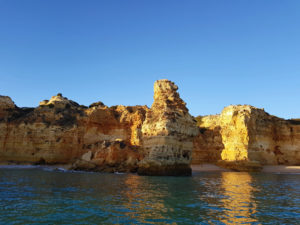Algave caves boat tour - King Kong