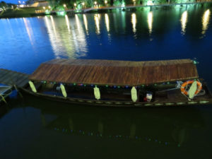 Kuching River boat, Malaysia