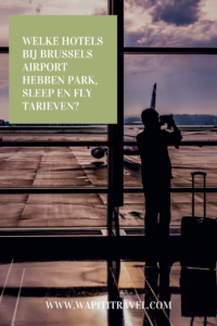 park sleep fly Zaventem
