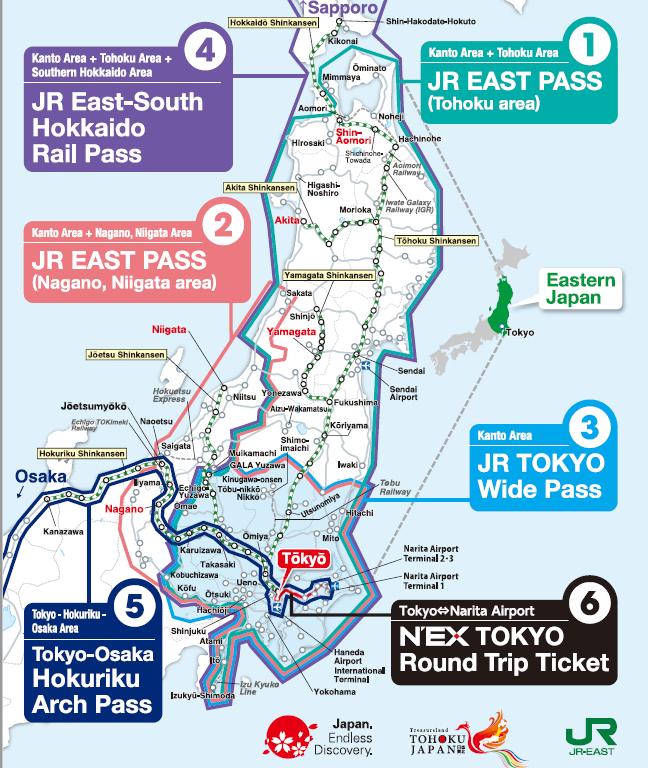 JREast regional passes