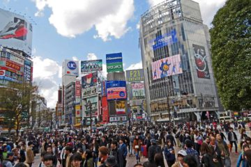 Tokyo Shibuya, not to me missed on a Tokyo itinerary