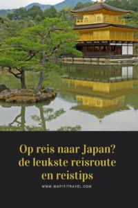 3 weken op rondreis door Japan