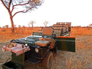 Safari Verhicle Sabi Sands Kruger National Park