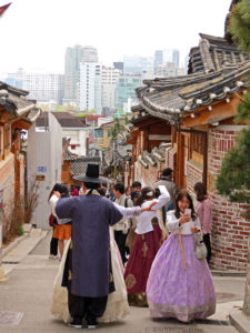 South Korea - Seoul - Bukchon Hanok Village