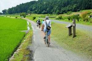 local cooking and cycling tour beautiful takashima biwa lake and rice in kyoto