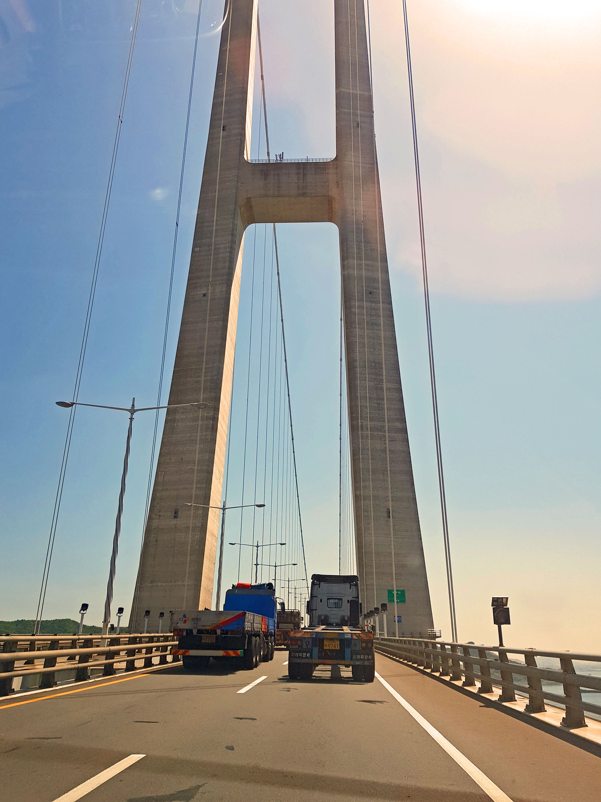 South Korea - suspension bridge