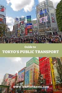 Tokyo public transport