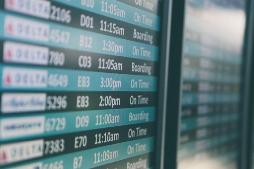 Flight information airport