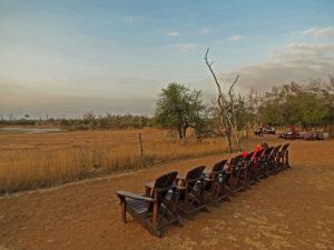 Hlane waterhole Swaziland
