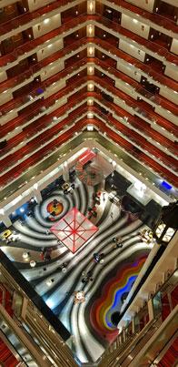 Atrium -Le Meridien, New Delhi, India