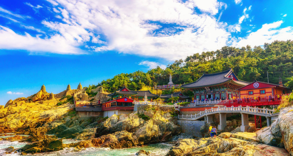 Haedong Yonggungsa Temple, Busan, South_Korea