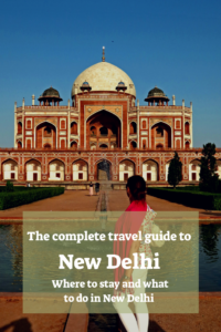 Sightseeing New Delhi
