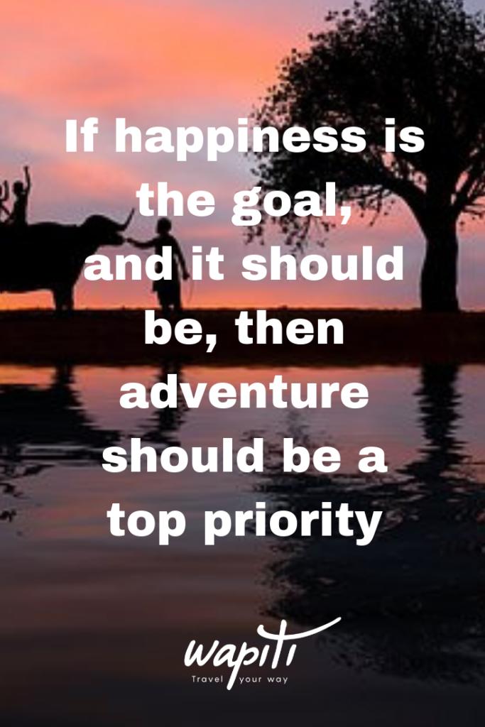Couple adventure quote