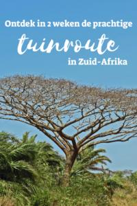 reisroute Zuid Afrika
