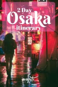 Osaka 2 days