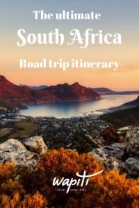 South Africa 3 weeks