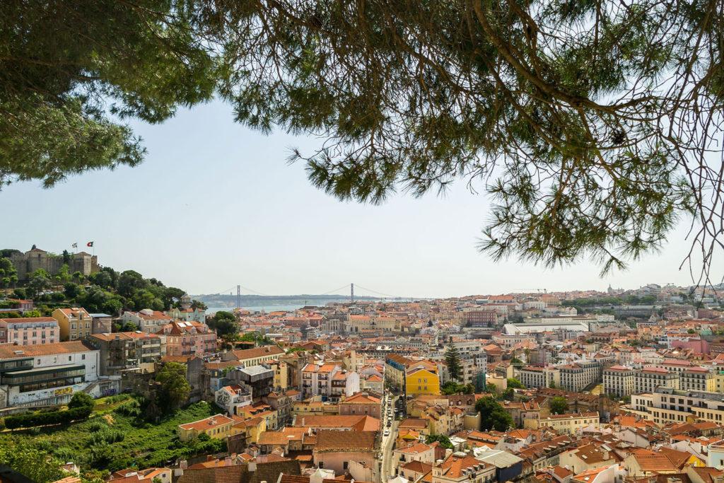 Miradouro da Graca Lisbon, Portugal