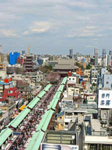 Nakamise Street Senso-ji Asakusa Tokyo Japan