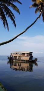 Houseboat lake Kumarakom