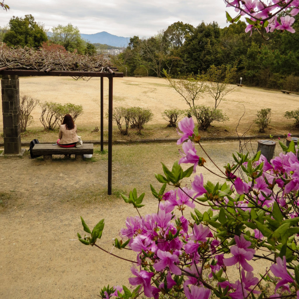 Kameyama-koen Park, Arashiyama, Kyoto