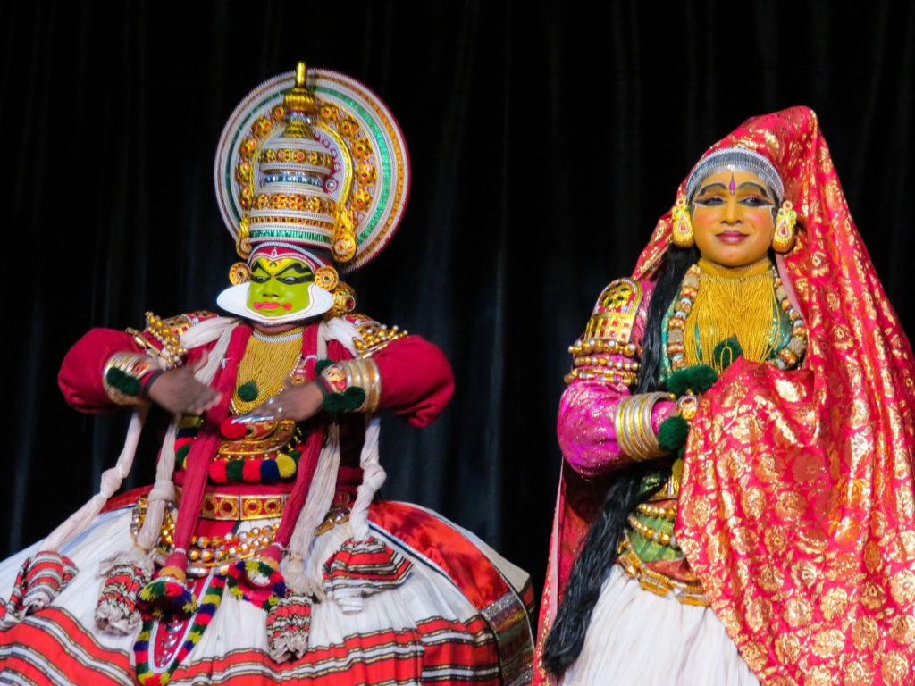 Kathakali show India