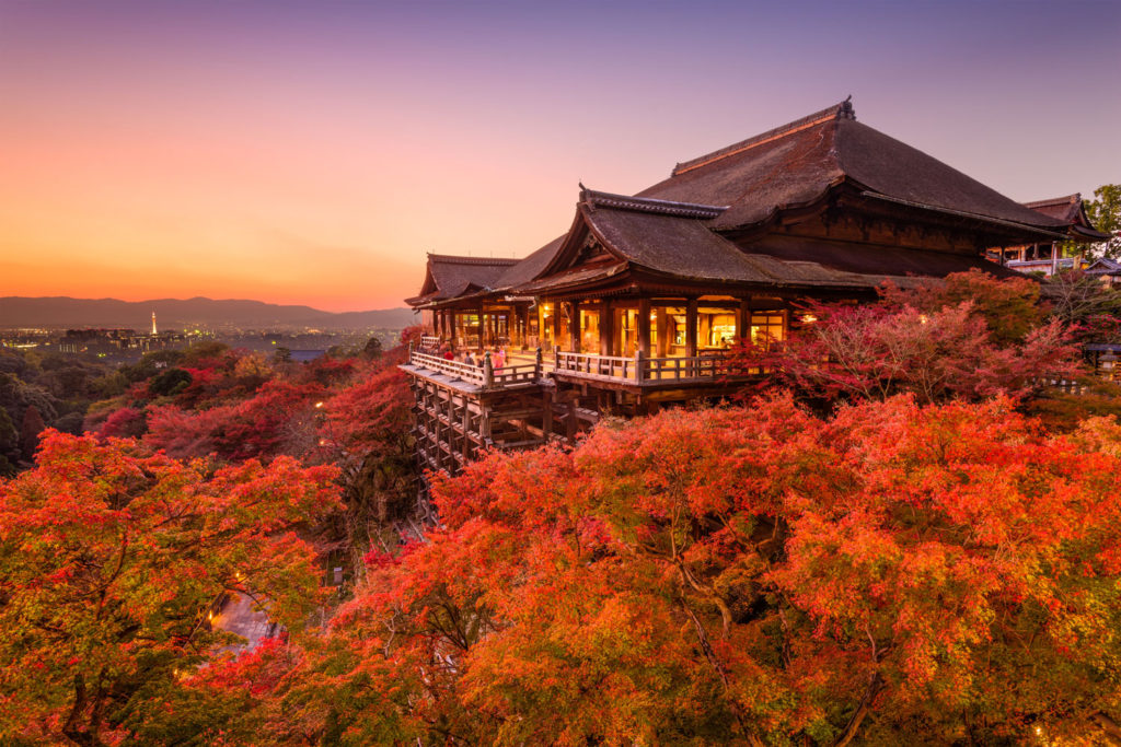 Kiyomizu Dera Autumn, Kyoto