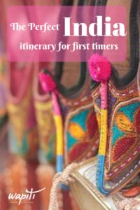 2 week India itinerary