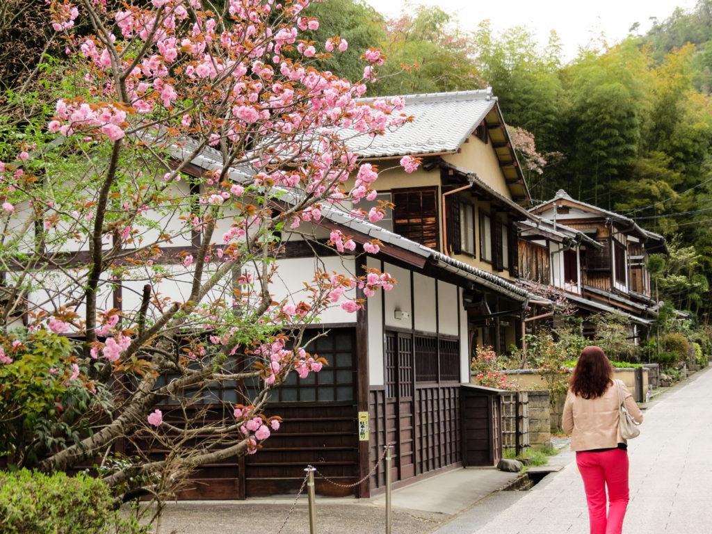 Saga Toriimoto Street, Arashiyama, Kyoto, Japan