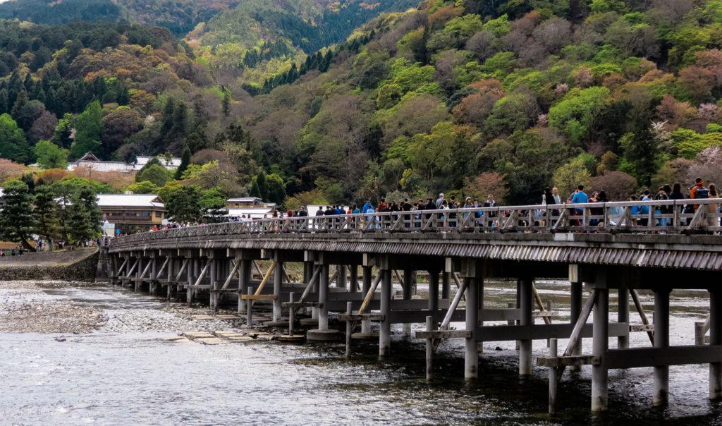 Togetsukyo Bridge, Arashiyama, Kyoto, Japan