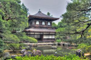 Ginkakuj Silver temple Kyoto, Japan