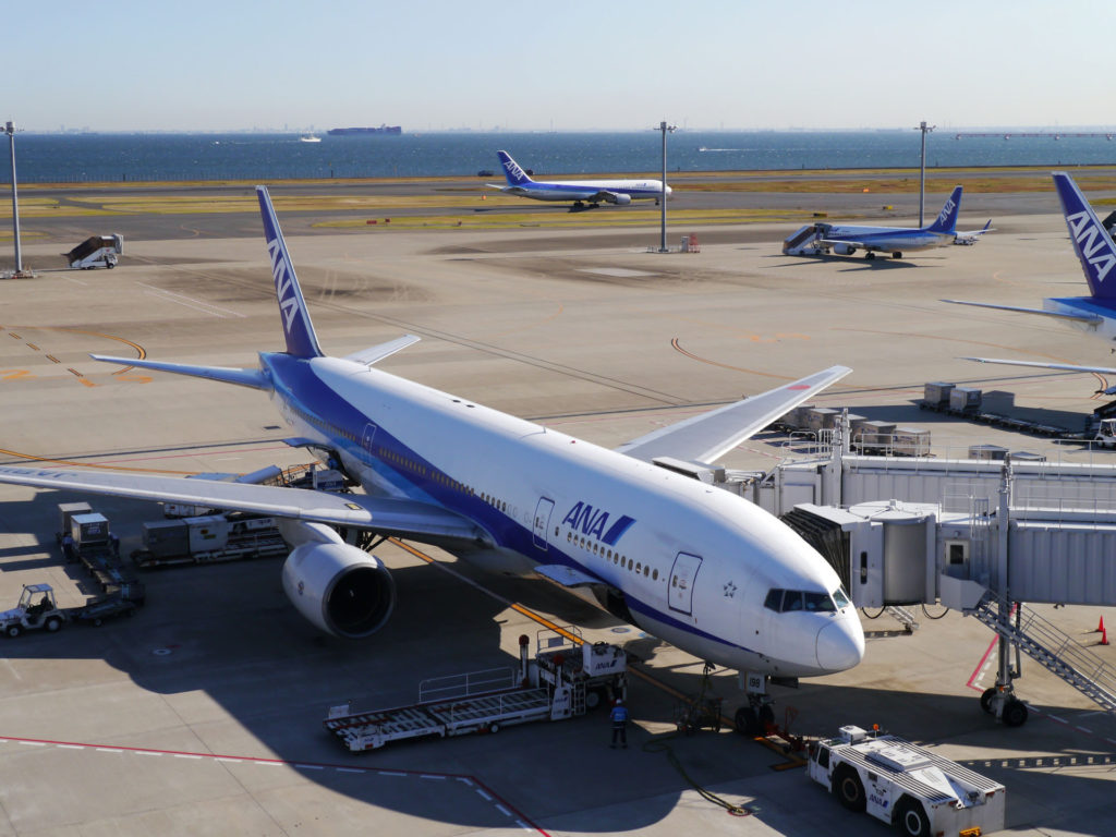 ANA Haneda airport, Japan