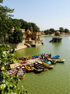 Gadi Sagar Lake, Jaisalmer, India