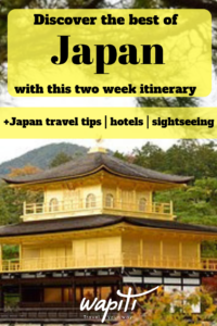 Japan 2 week itinerary
