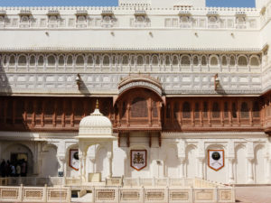 Junagarh fort Bikaner, India