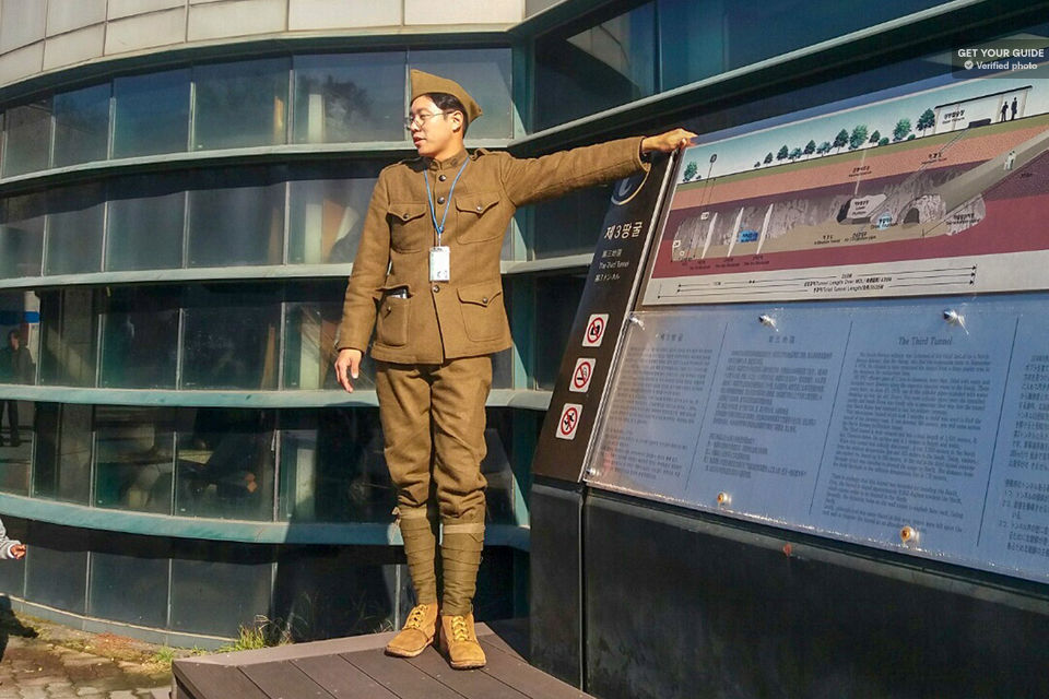DMZ North Korean Defector tour