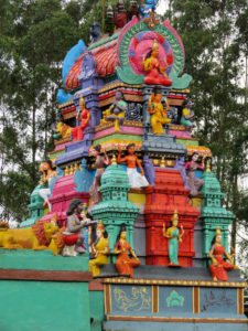 Colorful temple Munnar, Kerala, India