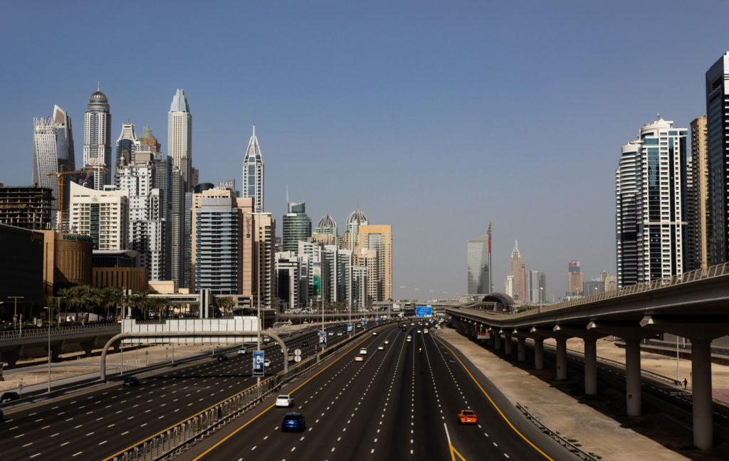 Dubai main road