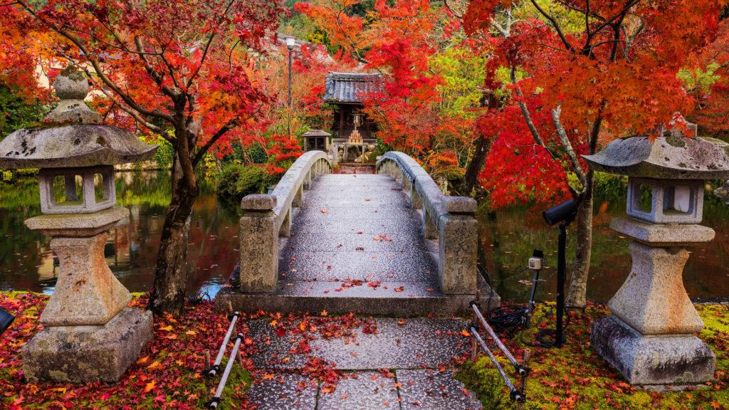 Eikan-do temple Kyoto, Japan