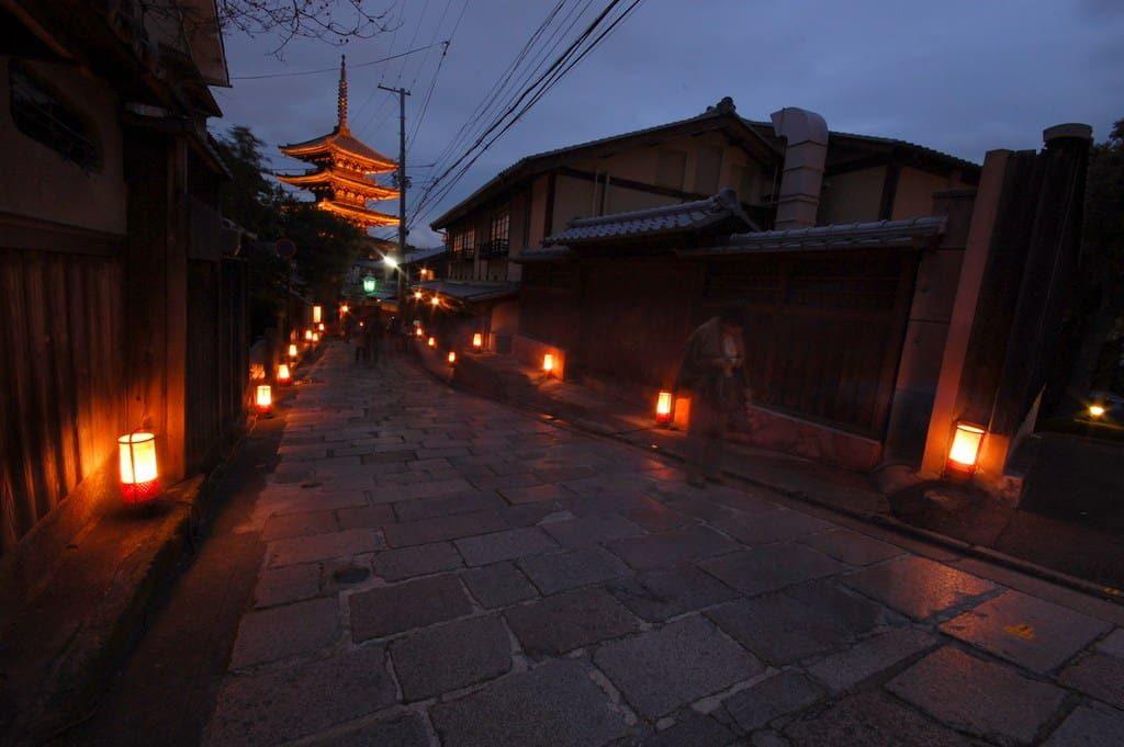Higashiyama Hanatoro event Kyoto, Japan