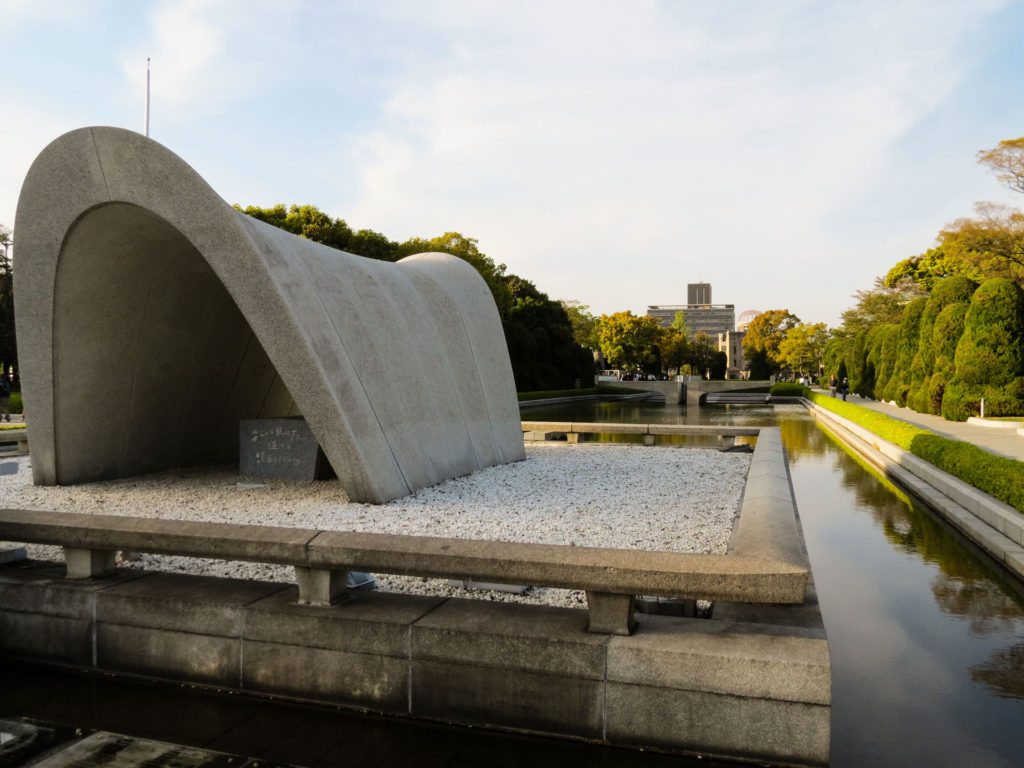 Hiroshima peace park Japan