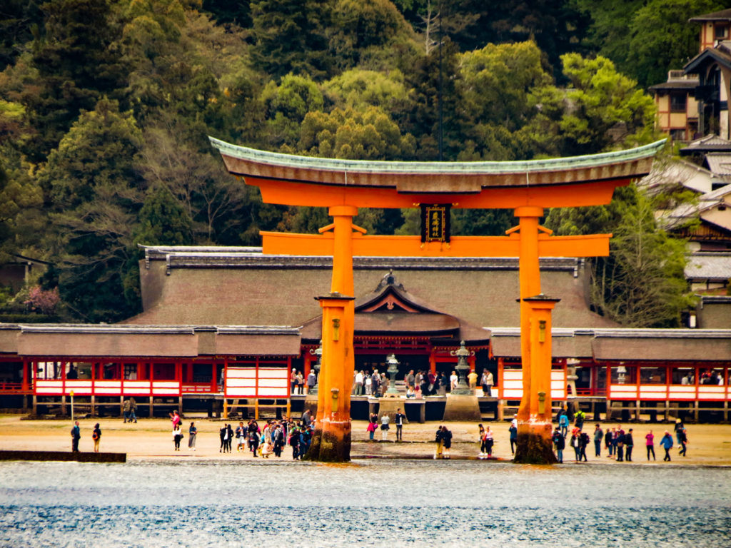 Itsukushima shrine Miyajima, Japan