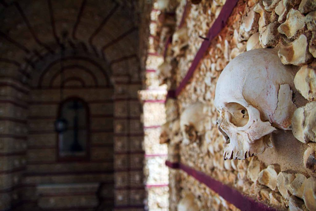 Faro bone chapel, Portugal