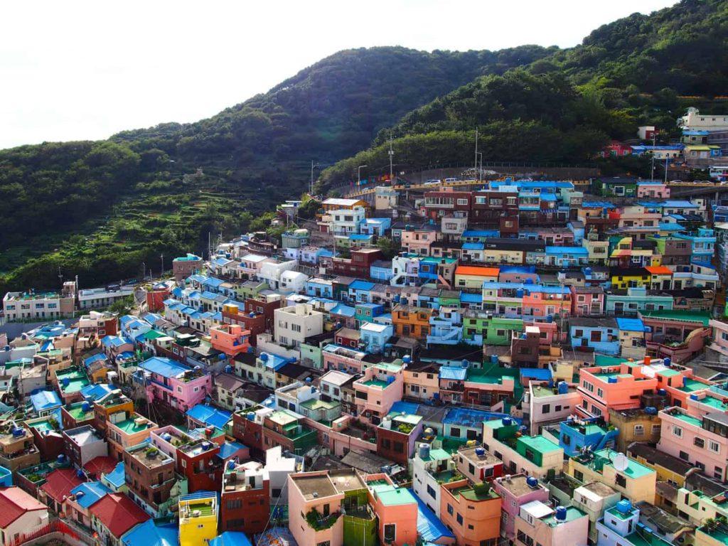 Gamcheon village Busan, South Korea
