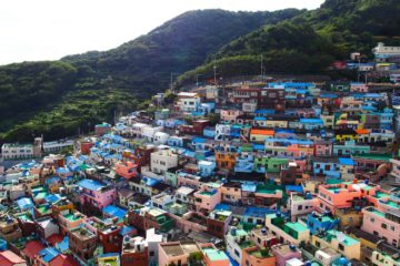 Gamcheon village Busan, South Korea